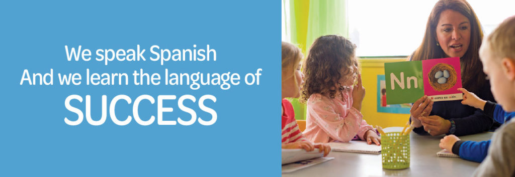 We speak Spanish and we learn the language of SUCCESS