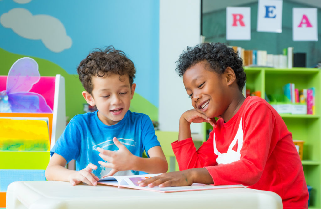 Language Immersion and Friendships   KSS Preschool